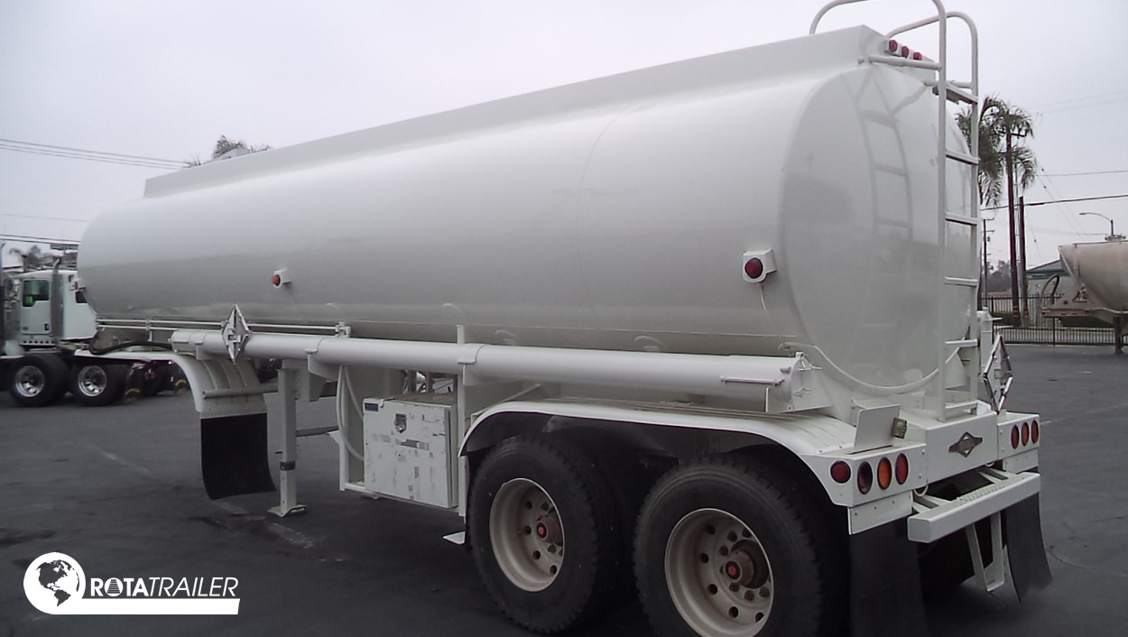 TANKER SEMI TRAILER 2 AXLE